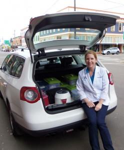 Dr. Denise Piaskowski of Valley Veterinary House Calls. Photo by Melissa Wagoner