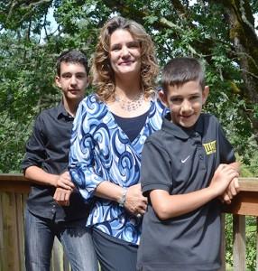 Riley, Tara and Kyle Kramer