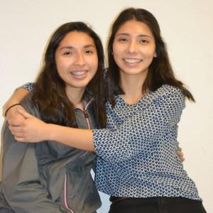 Silverton Future First Citizen Valeria Vazquez-Trejo (right) with her younger sister Alejandra.