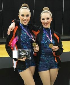 Silverton High School seniors Jena Hendrix and Nicole Finch