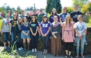 Silverton High School 2015 valedictorians and salutatorians.