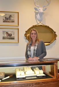 Annalysa Anderson Wareham, owner of Silverton Jewelers