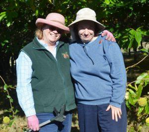 Paul'la Allen and her daughter, Julie enjoy working on their chestnut farm