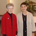 Sister Joella Kidwell and Sister Jane Hibbard.