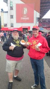 Dale Coleman and Sheldon Lesire in Belgium