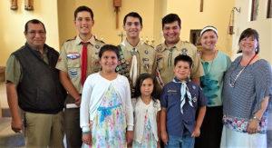 JONATHAN, COURT OF HONOR, FAMILY (2) pr