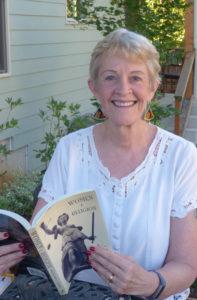 Author, Karen Garst, reading from one of her books. (3)