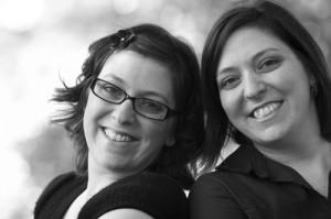 Twins Jennifer Evans and Rebecca Grinder create One Bright Spot.