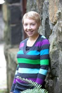 Regis High School senior Erin Marshall