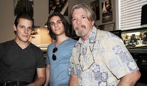 Chryzinium producers Phillip Wade, Tim Mark Wade and Rick Lord