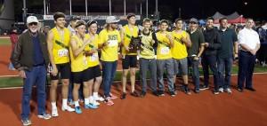 Regis track team wins Class 2A state title.
