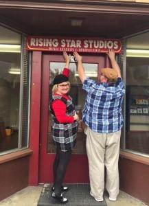 Risiing Star Studio 2 Keith and Kara Blocker